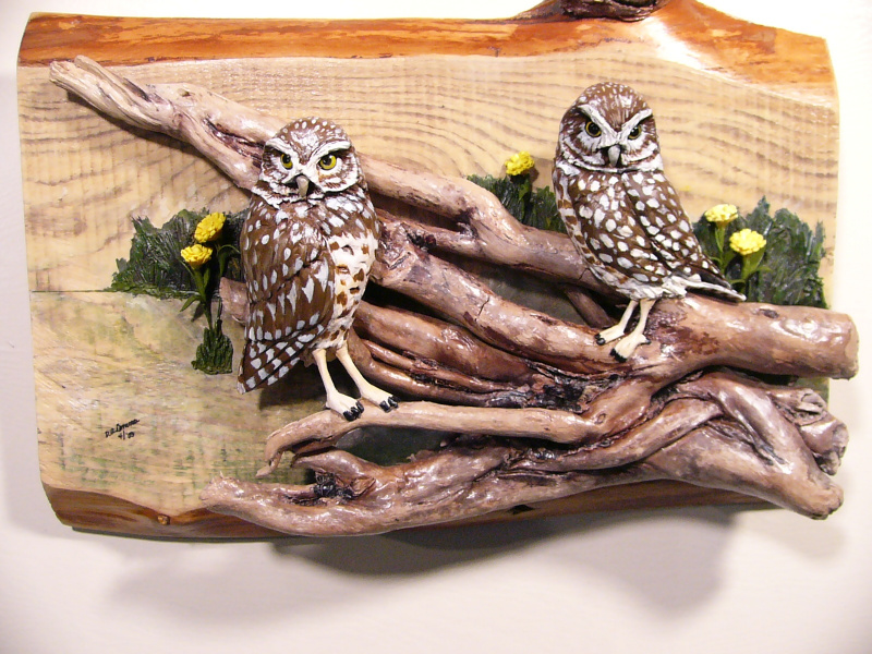 Burrowing Owl sculpture