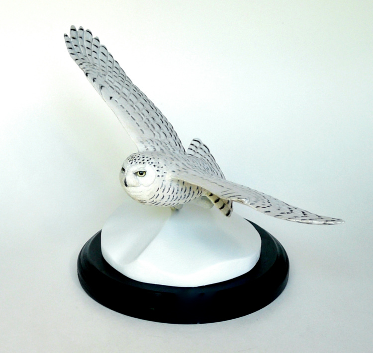 Snowy Owl carving